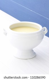 Smooth, creamy and slightly seasoned corn bisque, this delicious cream soup is a type of thick soup similar to New England clam chowder