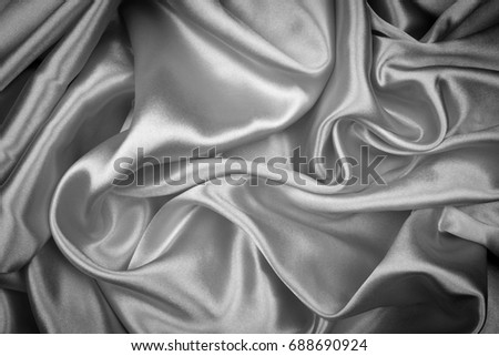 98d2e3d358f95 Smooth elegant gray silk or satin texture can use as abstract background,  dark tone