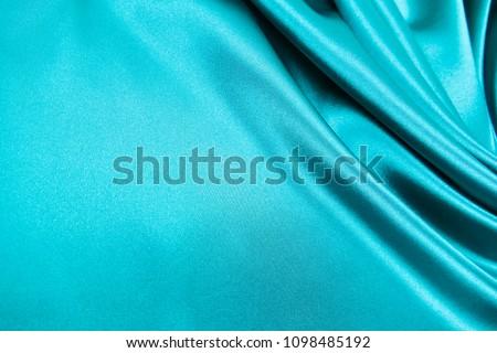 Smooth elegant wavy turquoise