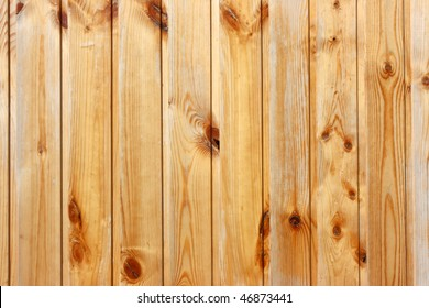 Smooth fence pine boards