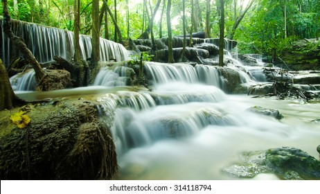 Smooth water fall in Thailand