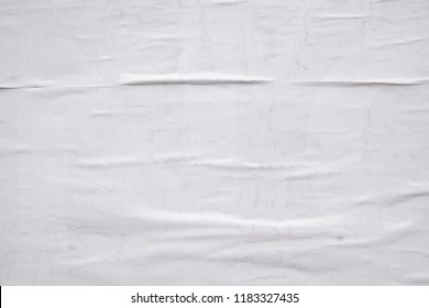 smooth waved white poster texture