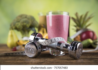 Smoothie diet background