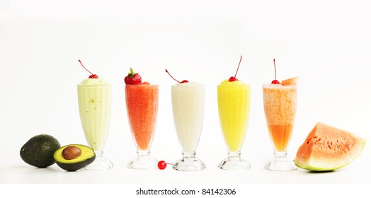 smoothie isolated on white