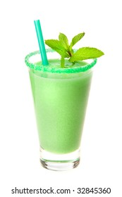 smoothie with mint