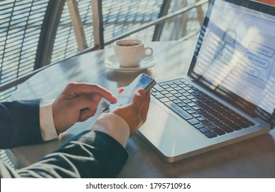 sms code for security confirmation, secure login access, two steps verification authorization for banking online - Shutterstock ID 1795710916