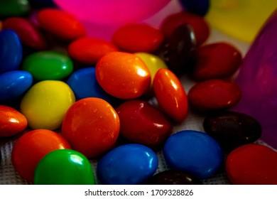 Smyrna, GA / USA - Apr 18 2020:  Bright colorful candy brightens the day