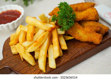 Snack fish fries