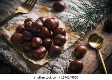Snack food chestnut