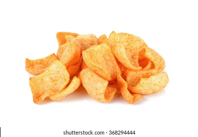 Snack isolated on the white background .