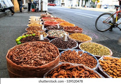 Snacks sold in the streets of Mexico