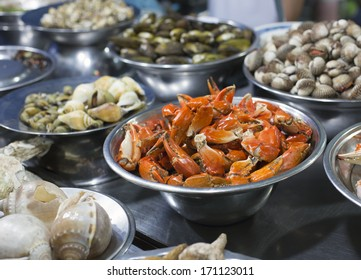 Snail Street food in Saigon, Ho Chi Minh, Vietnam
