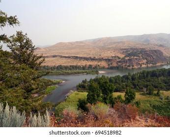 Snake river Idaho landscape
