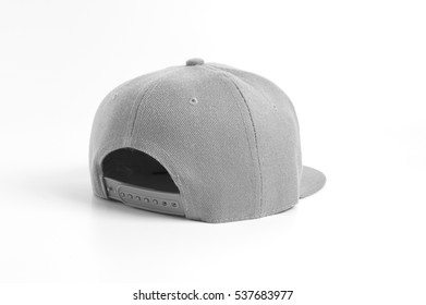 Snap Back Cap Rear View