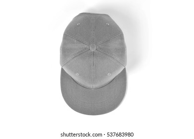 Snap Back Cap Top View
