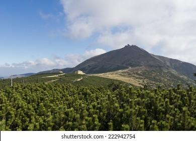 Snezka - The highest mountain of Czech Republic,  Giant Mountains