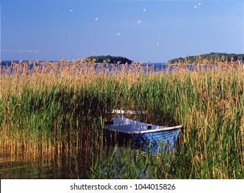 Sniardwy Lake, Masuria region (Mazury), Poland