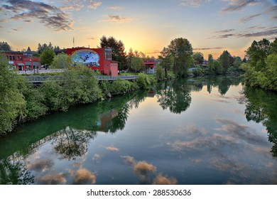 """SNOHOMISH, WASHINGTON, USA - MAY 3: Snohomish is known for its many antique shops. Snohomish is also known as the """"Antique Capital of the Northwest"""" as seen on 3 May 2015."""