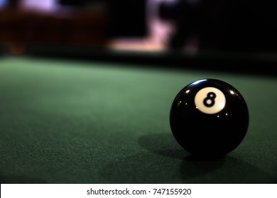 Snooker ball number 8