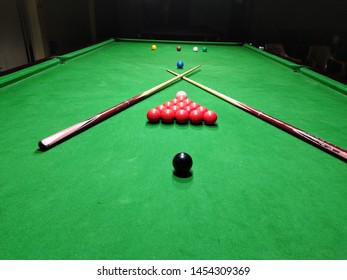 snooker is on of the favourite games of mine because it needs a strong aim ,precision to hit the cue ball and pot the ball.not everyone can do that