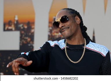 Snoop Dogg at the Los Angeles premiere of 'Once Upon a Time In Hollywood' held at the TCL Chinese Theatre IMAX in Hollywood, USA on July 22, 2019.