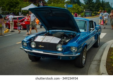 SNOQUALMIE, WA - AUGUST 2011: Legends Classic Car Show on august 2011 in Snoqualmie, WASHINGTON. USA.