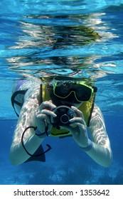 Snorkeler with Camera