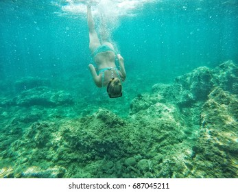 Snorkeling in the Aegean Sea