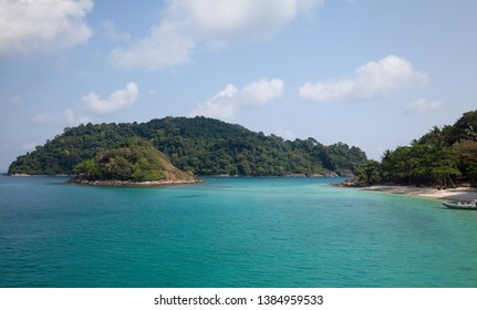 The snorkelling famous place of Koh Rang Island National Park where near to Koh Chang, Trat, Thailand