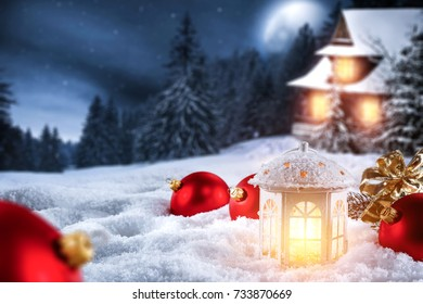 snow background space