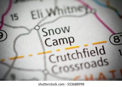Snow Camp. North Carolina. USA