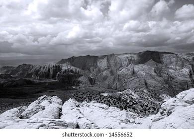 Snow Canyon in St. George, Utah - Sandstones