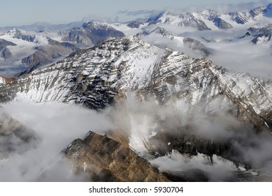 Snow Capped Peaks - Northeast Greenland National Park