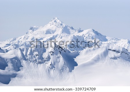 Snow covered Greater Caucasus