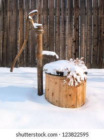 Snow Covered Water Well