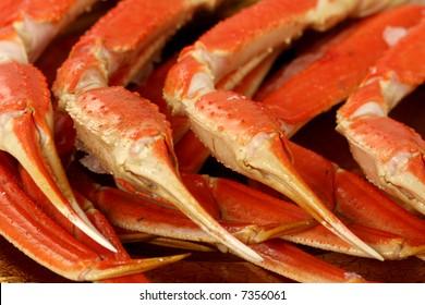 Snow crab legs on review , one singular sensation