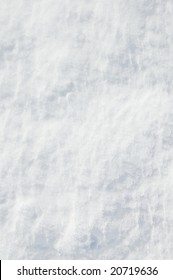 snow crystals ruffled by wind, texture