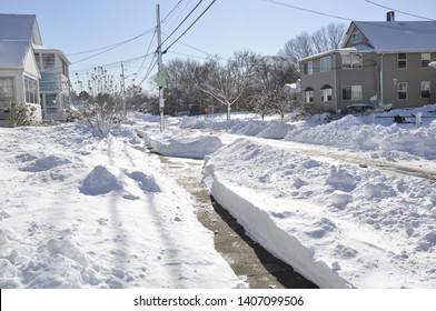 A snow day in Cranston RI