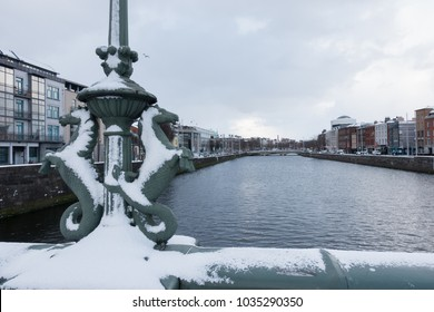"Snow in Dublin - Ireland ""Beast from the East"" 28_02_2018"