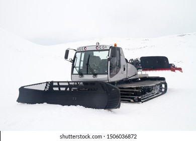 Snow grooming is the process of manipulating snow for recreational uses with a tractor, snowmobile, piste caterpillar, truck or snowcat towing specialized equipment.