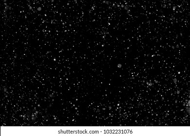 Snow hi-res texture for designers works - abstract photo texture of the real snow on the black background for adding and editing as background layer in the screen regime - Shutterstock ID 1032231076
