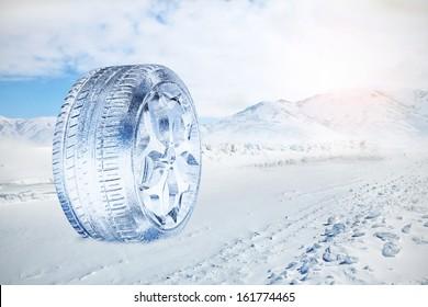 Snow Ice Tire concept