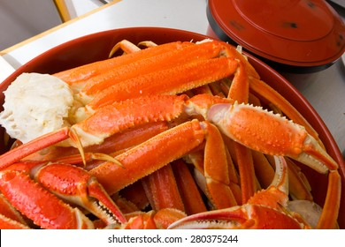 Snow King Crab was steaming very delicious
