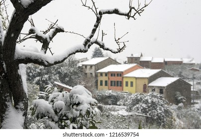Snow in Lucca