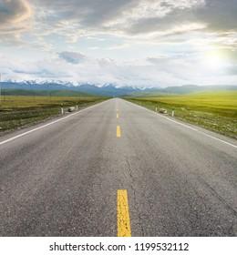 Snow Mountain Prairie Highway