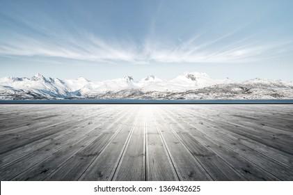 Snow Mountain Road Platform