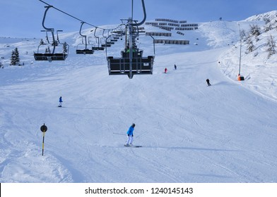 Sölden: Snow mountains and glaciers for perfect sking and snowboarding in Sölden in the tyrolean alps