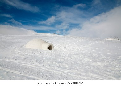 Snow on Mount Hermon