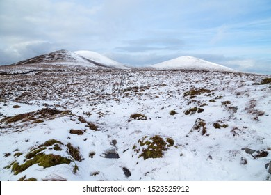 Snow in the the Paps of Anu, Co Kerry, Ireland