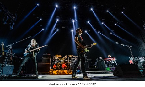 Snow Patrol performance at Rock Werchter Festival, Werchter, Belgium 5-8 July 2018